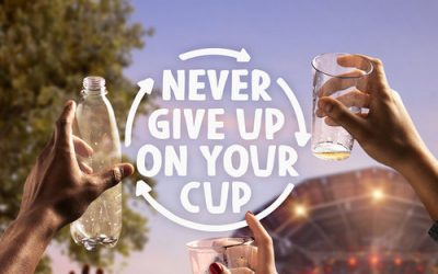 Plastic Promise lanceert campagne 'Never Give Up On Your Cup'
