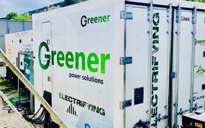 Greener en Alfen voorzien festivals van schone energie via batterijen