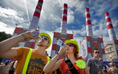 Gratis water op een festival is een leuk idee, maar wie gaat dat betalen?