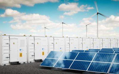 Batterijen geladen met groene stroom te huur voor evenementen en bouwplaatsen